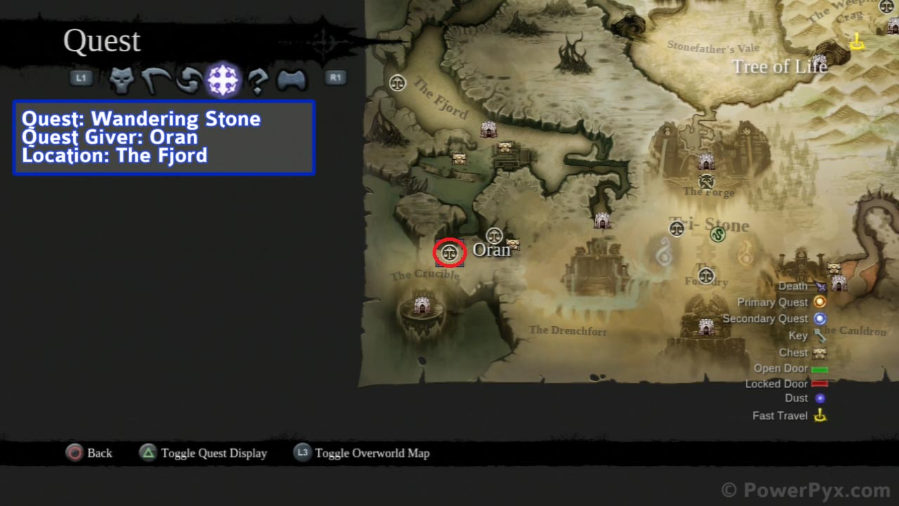 darksiders 2 book of the dead reward location
