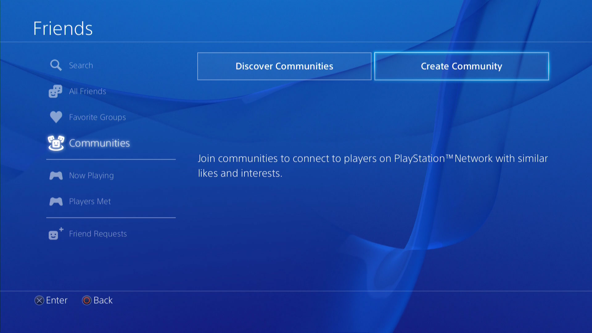 How to create PS4 Community with your own custom Logo and Background